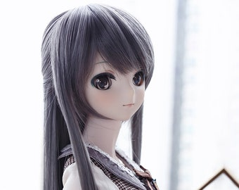 """Dollfie Dream DD SD 1/3 Straight style wig 9""""/23cm [Pre-order / instock] 6 natural colors"""
