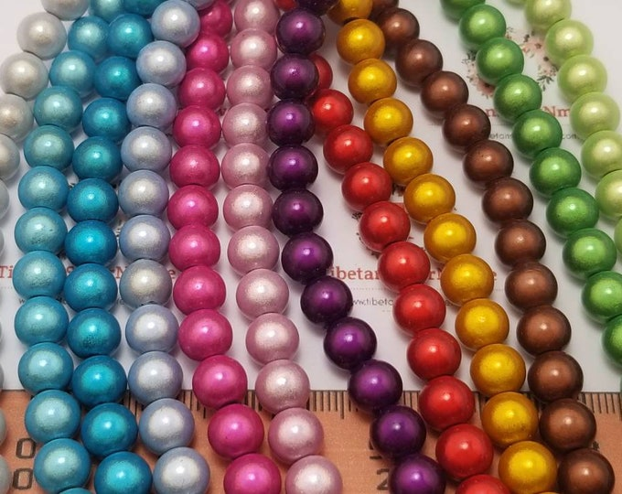 1 strand of 8mm Miracle Lucite Beads 45 beads in each strand color to choose.