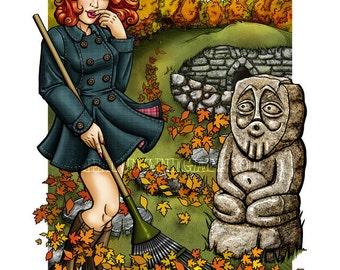 Four Seasons : Autumn - 8x10 Giclee Print