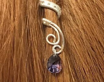 bridal hair pin alternatives, bridal hair pins, hair cuffs, wedding hair pins, silver hair pins, hair accessories, crystal hair pins