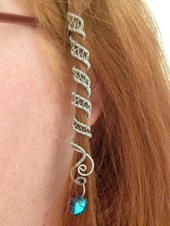 5 Stücke Metall Haar Geflecht Dreadlock Perlen Manschetten Clips Braid Spir s Ew