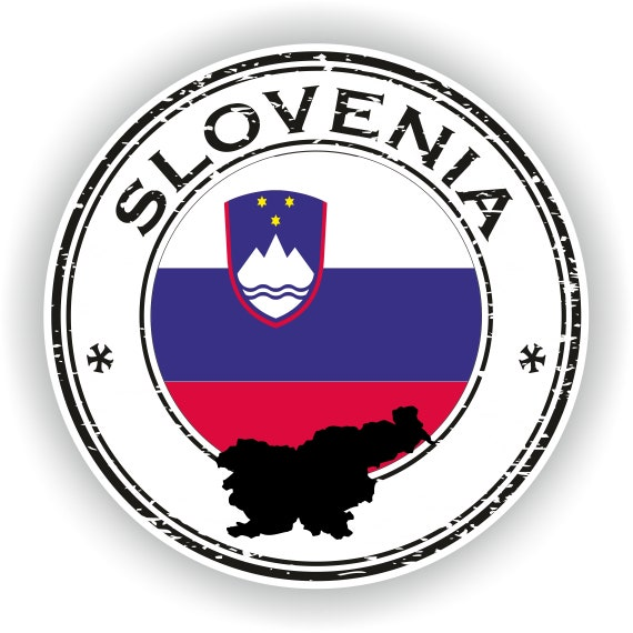 Slovakia Flag Grunge Rubber Stamp Car Bumper Sticker Decal 3/'/' or 5/'/'