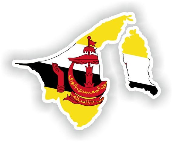 SRI Lanka Map Flag sticker Silhouette Motorcycle Car Helmet Laptop