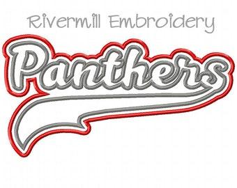 cheaper f1251 4f919 Carolina panthers embroidery design | Etsy