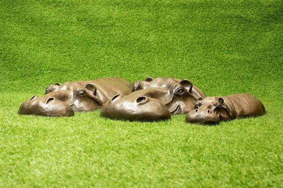 DIY Resin Mouse Statue for Outdoor Grassland Backyard Garden Accessory