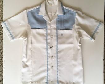 97c855d3 Vintage IOLANI EXECUTIVE Hawaii Hawaiian Men's Camp Shirt