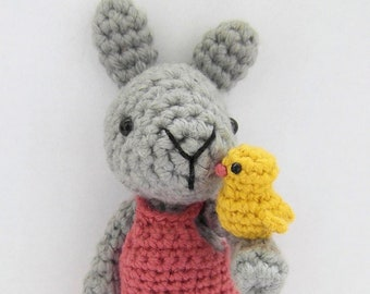 May Bunny crochet amigurumi PATTERN