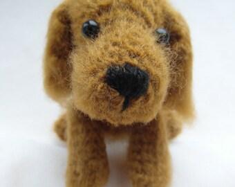 Cocker Spaniel puppy crcohet PATTERN - PDF instructions