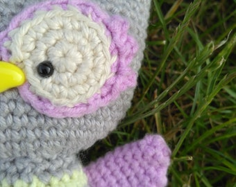 PDF PATTERN only - crochet baby owl by Cute and Kaboodle