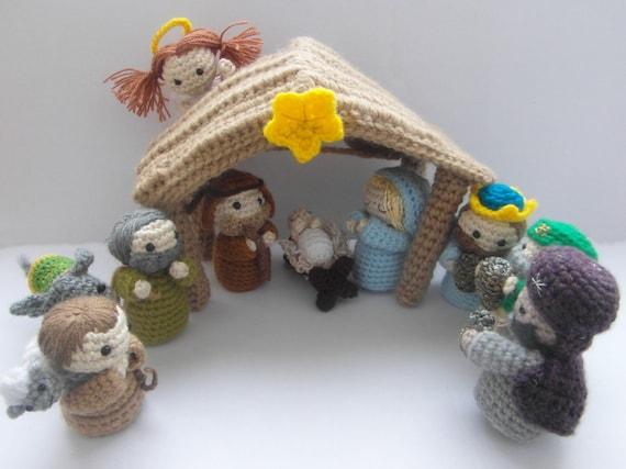 Christmas in July – Knit and Crochet Nativity Sets – free patterns ... | 427x570