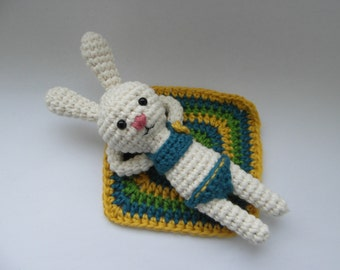 PATTERN ONLY - Sunny bunny - amigurumi - PDF instructions - instant download