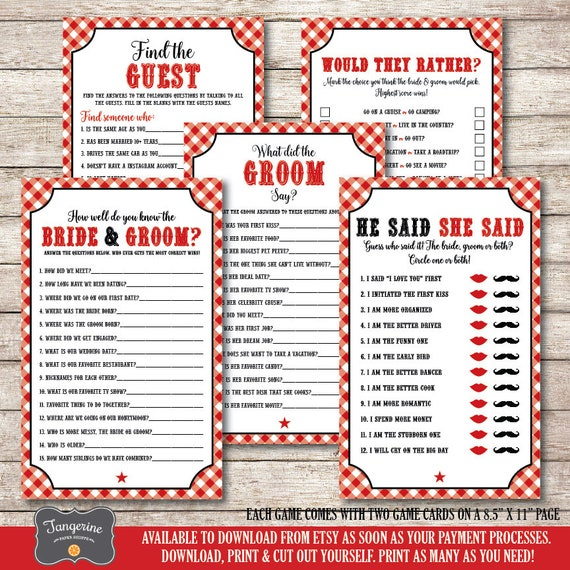 photograph relating to Printable Games for Couples titled I Do BBQ Game titles Printable, Partners Shower Video games Bundle, Bridal Shower Video games, Prompt Obtain Video games, BBQ Shower Online games, PDF Data files