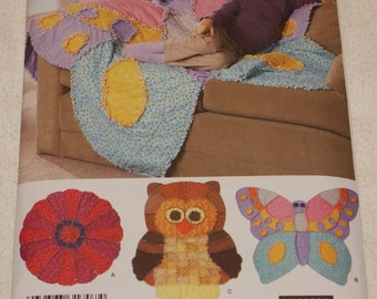New Simplicity Childs Rag Quilt pattern 2935