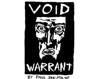 VOID WARRANT sci-fi digital comic by Paul Jon Milne