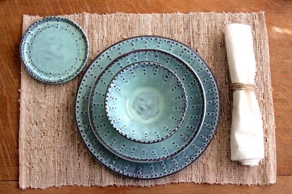& Dinner Plates Dinnerware 3 Piece Set Dinner Salad Plate