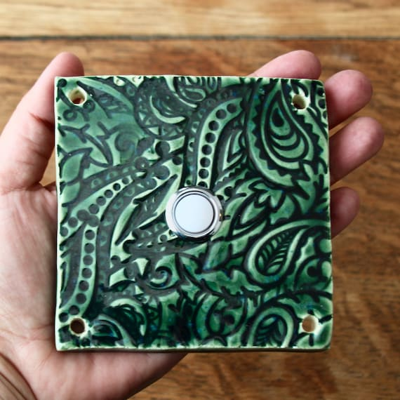 Delightful Doorbell Button Tile Door Bell Plate Cover Custom Color