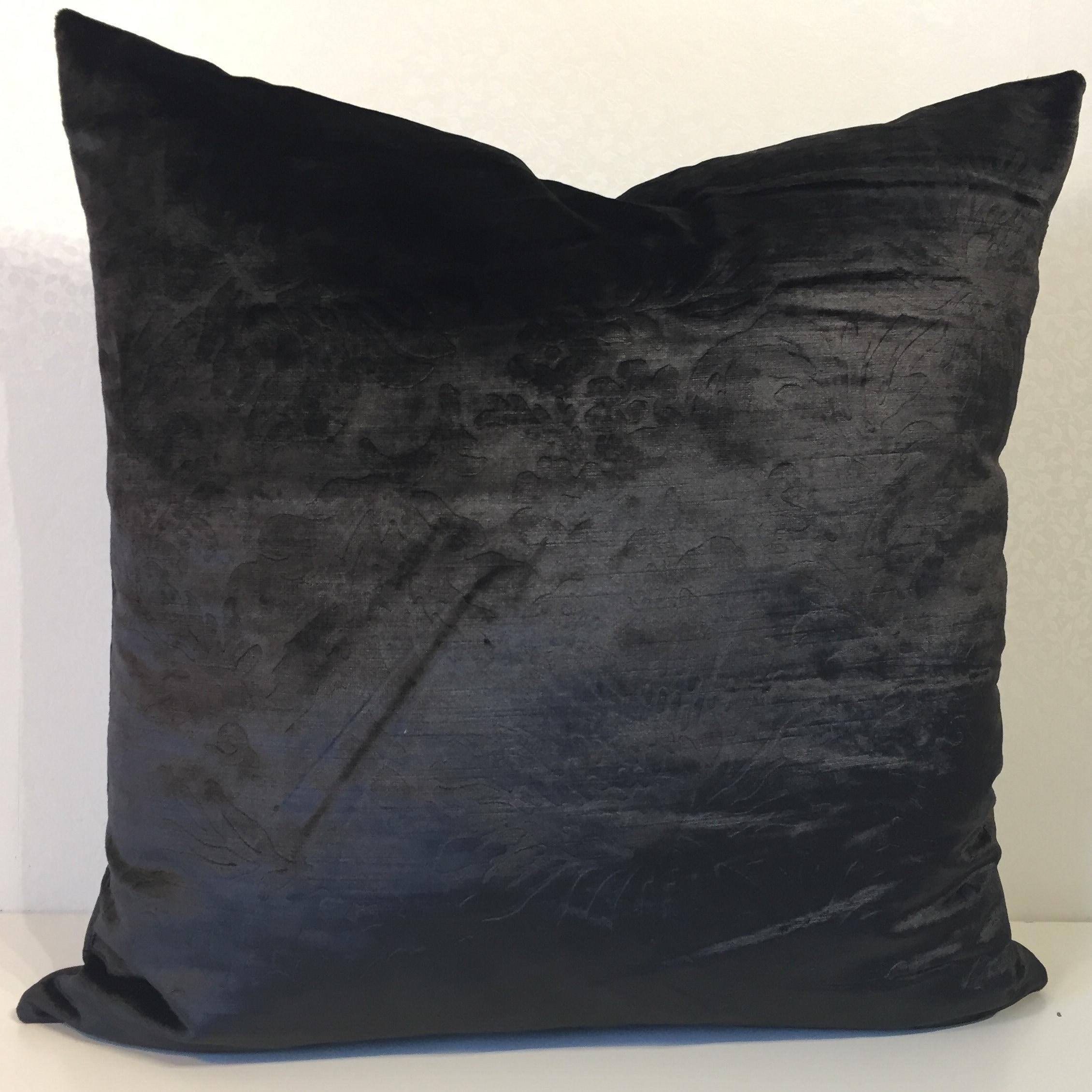 Negro Grande Y Negro Almohada fundas de cojines Almohada covers Lanzar la cub