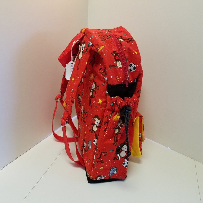 Monkey See Monkey Do Toddler Backpack