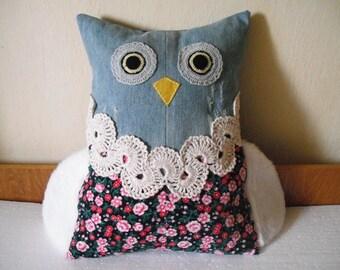 Owl pillow case | Etsy