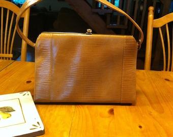 a91ce465ff0 Retro Handbag Frenchy of California Vintage Designer Handbag