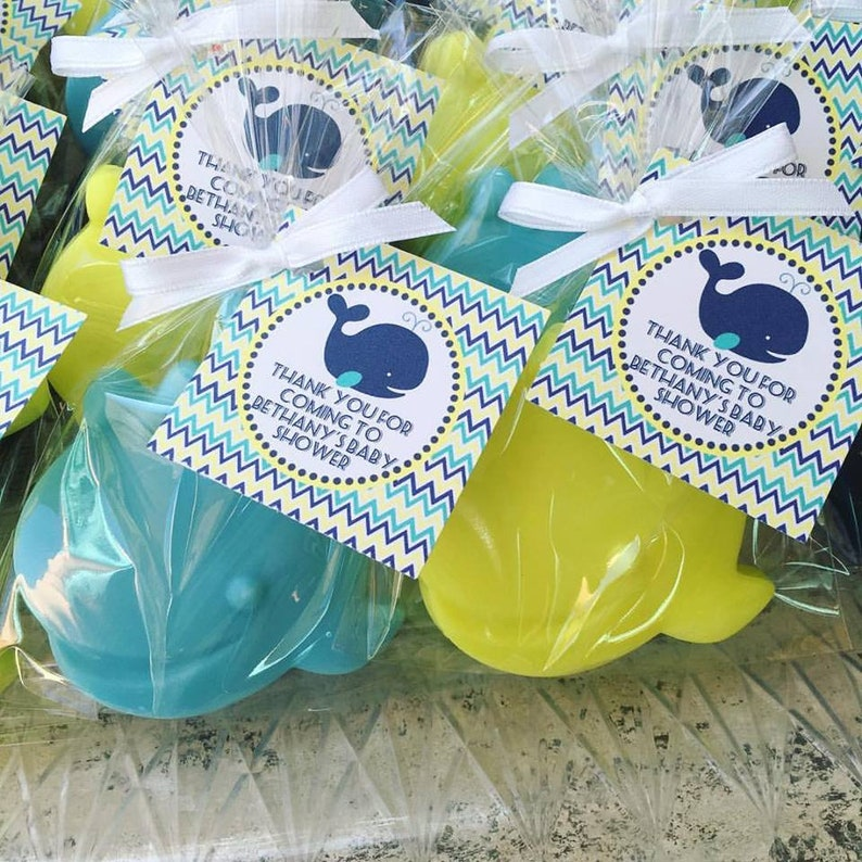 1d7903781a58 65 WHALE SOAP Party Favors Ocean Baby Shower 1st Birthday