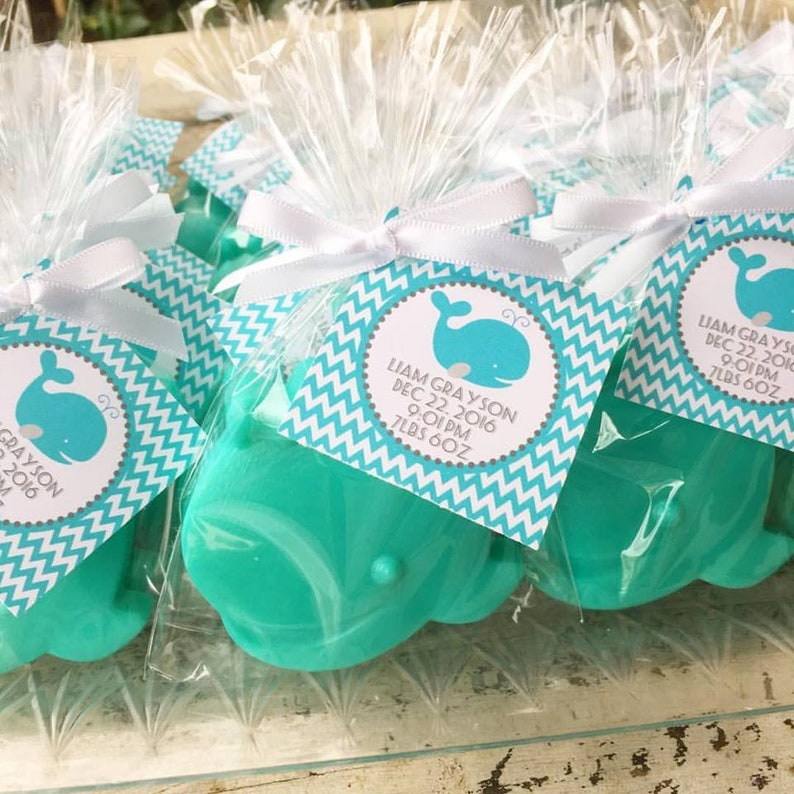 f79e5a90ab38 60 WHALE SOAP Party Favors Ocean Baby Shower 1st Birthday