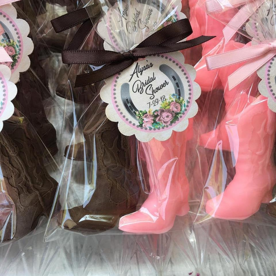 20 COWBOY SOAPS 10 Favors Western Bridal Shower Favor | Etsy