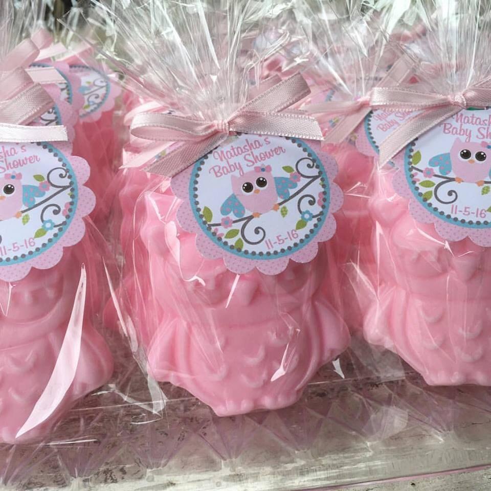 25 OWL SOAPS Favors Owl Baby Shower Favor Owl Birthday