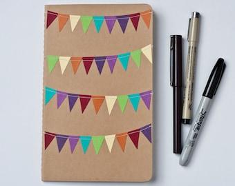 Rainbow Journal, Cute School Supplies, Customized Notebook, Teacher Gift under 20, Back to School Gift,