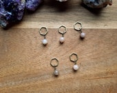 Sunstone: Stitchmarker set of 5 (up to 8 mm needles) by Star Fiber Studio