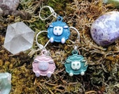 Poofy Sheep: Enamel Stitc...