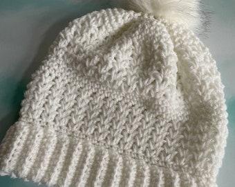 CRocHet PaTteRn,  Crochet Beanie, Crochet Hat, Crochet Woman's Hat, Beanie, Woman's Beanie, Beanie Pattern, Crochet Hat Pattern, Hope Beanie
