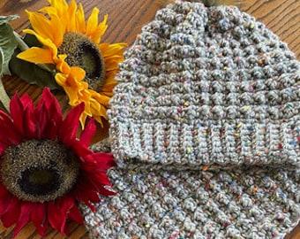 CRocHet Beanie Pattern,  Crochet Beanie and Cowl, Crochet Hat, Crochet Cowl, Woman's Beanie, Beanie Pattern, Crochet Hat and Cowl Pattern