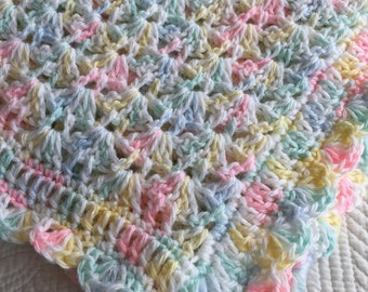 """Baby Blanket Pattern, CroCheT PAtTeRn, Crochet Baby Blanket Pattern,  Baby Afghan Pattern,  """"Soft and Cuddly Baby Afghan"""" Pattern"""