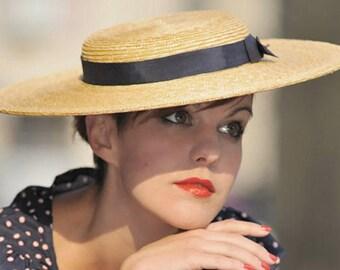 The Lady London Hat - Chapeau de Paille