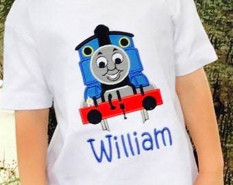 4d45695ed Thomas the train shirt | Etsy