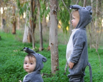 Mouse suit, dress up, kids costume, christmas gift