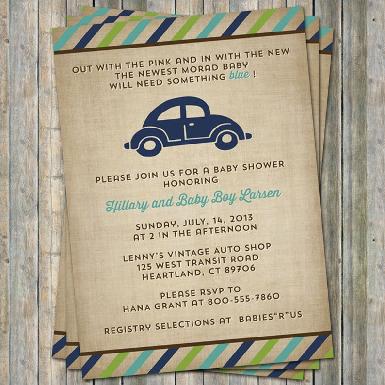 graphic about Printable in Transit Sign for Car referred to as VW beetle child shower invitation, Volkswagen Vehicle concept, electronic, printable document