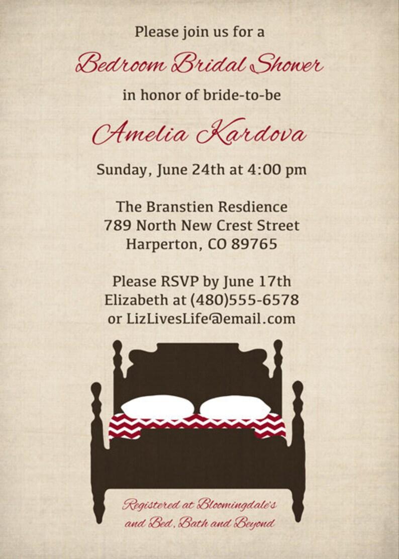 digital bridal shower invitations bedroom bridal shower printable jpeg