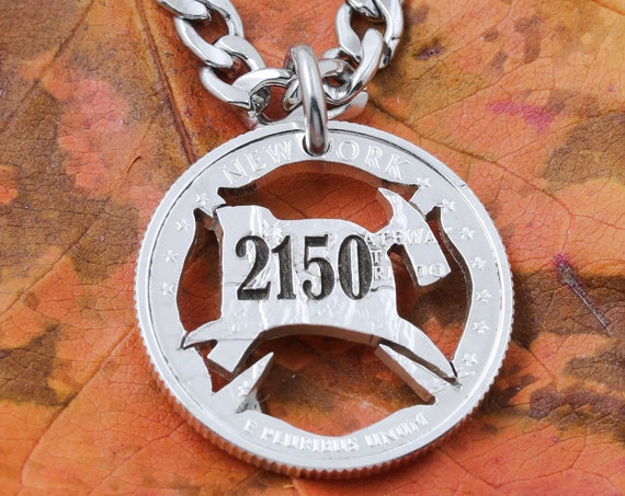 FireFighter Necklace, custom engraving, personalized number, Fireman Hat and Axe, Fire Fighter Gift,  hand cut coin