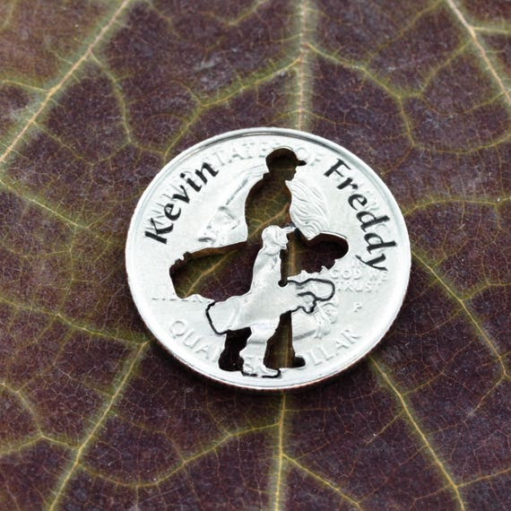 Daddy and Me Golf Ball Marker, Custom Names, Name Engraved, Golf Dad Gift