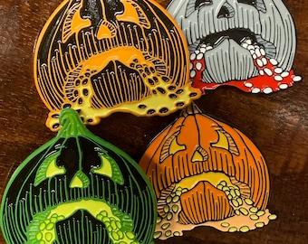 The Carving Enamel Pin 2021 Pumpkins