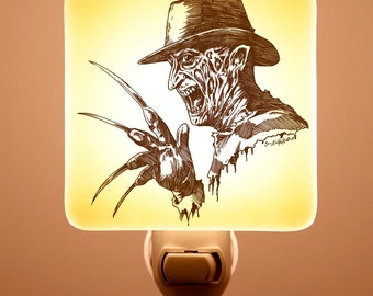 Freddy Fused Glass Night light