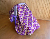 Items similar to Car Seat Canopy Stroller Blanket---Los Angeles ... a5ae2c220