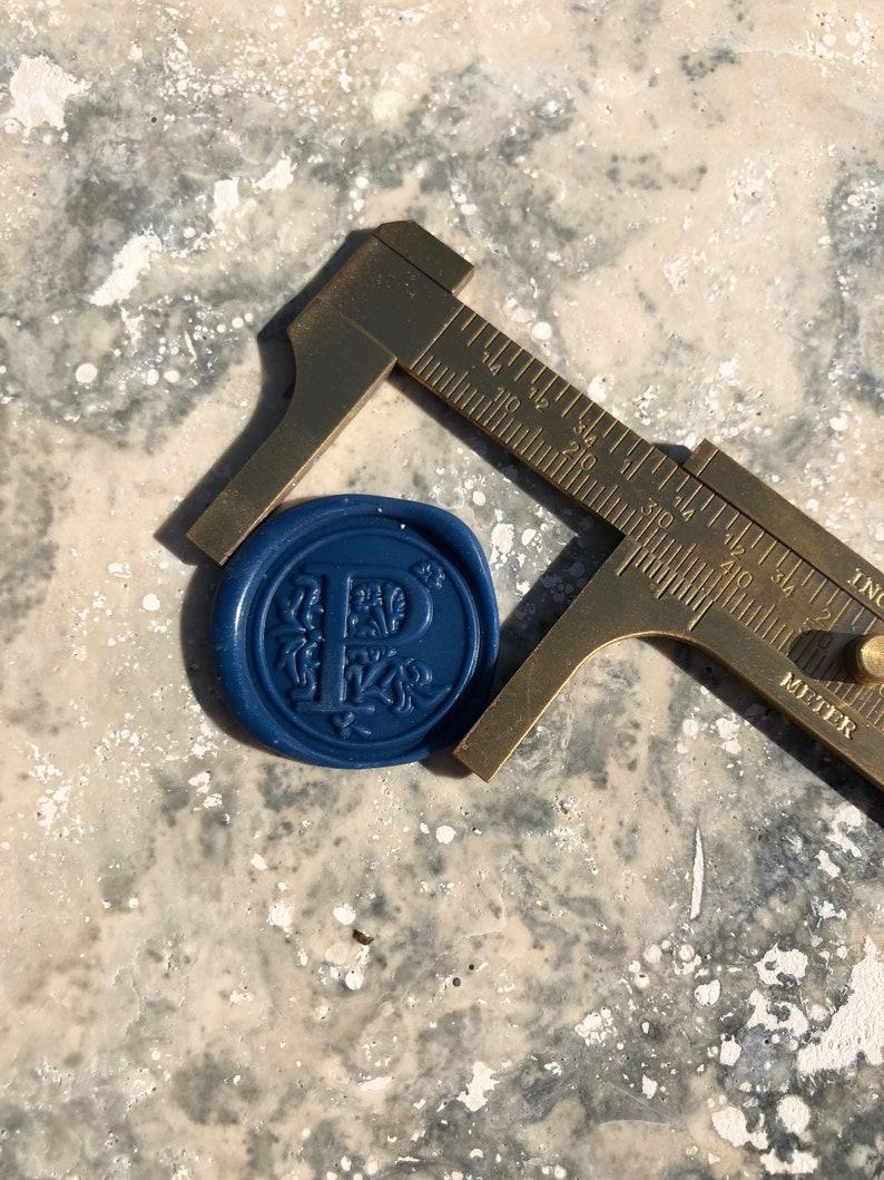 Classic G Wax seal Sticker