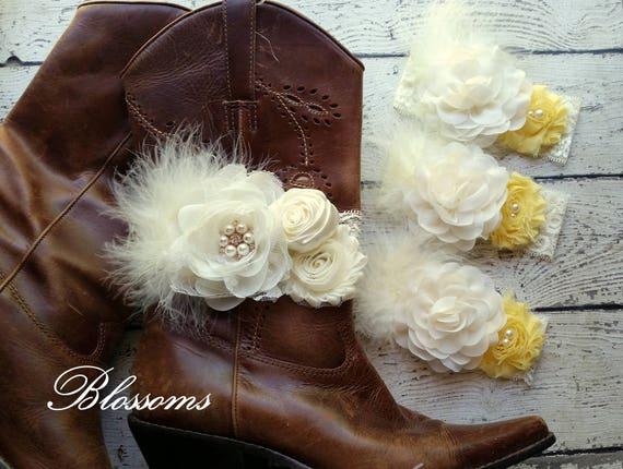 Choose Color Bridal Party Boot Bracelet Bride S Boot Etsy