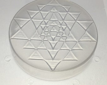 3 Sri Yantra with Full Resolution Tile Mold