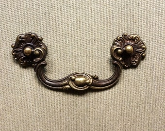 vintage drawer pulls etsy