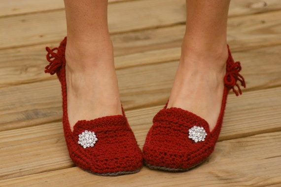 Crochet Pattern For Womens House Slippers Pattern Number 117 Etsy
