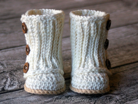 Crochet Pattern Baby Wrap Boot Boy Girl Instant Etsy